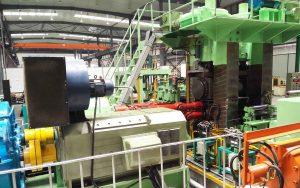 4-hi strip steel rolling mill
