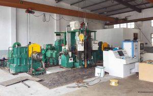 4-hi steel rolling mills