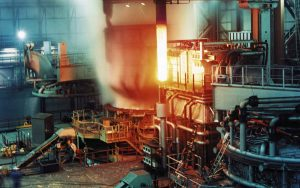 electric arc furnace for rolling mill