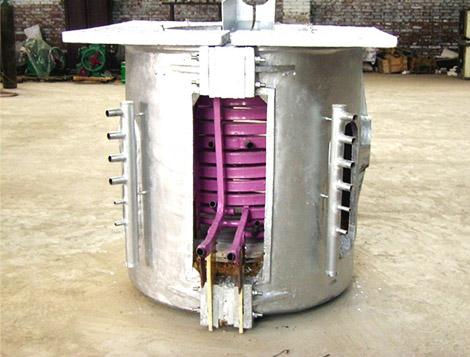 medium frequency induction melting furnace