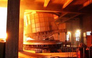 ladle refining furnace for rebar mill