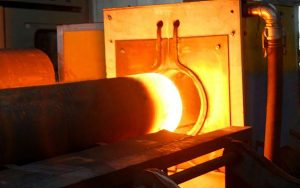 induction furnace for rolling mill