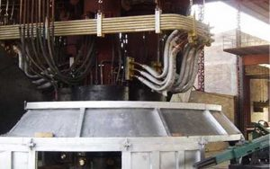 submerged electric arc furnace for rolling mill