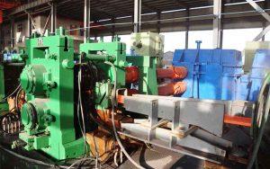mini re-bar steel rolling mill