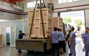 loading exported machine