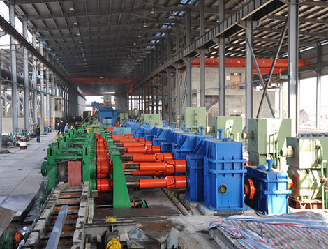 the complete rebar rolling mill units