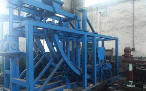 vertical continuous casting machine