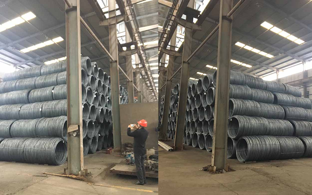Iran customer visit factory