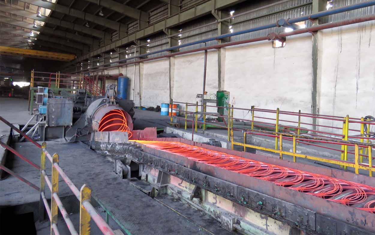 steel rolling mill project