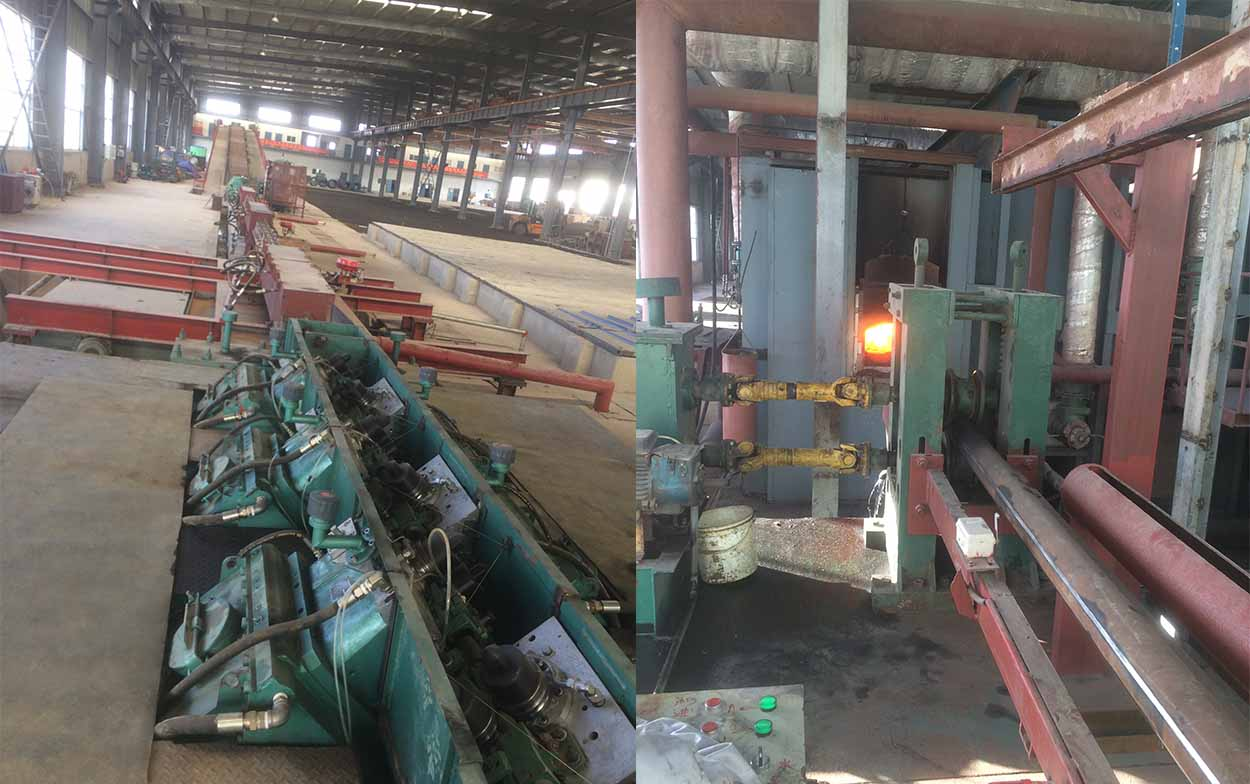 wire rod mill plant line