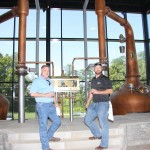 Visitors get a peek inside the new Alltech Lexington Brewing and Distilling Company.