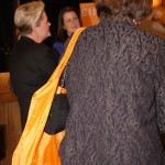 The Bingham McCutchen orange bag, along with Bingham's orange logo, was part of the sea of orange at today's welcome ceremony at City Hall in Lexington. The global law firm is bringing 250 jobs to Lexington.