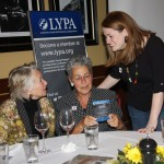 2012 Rising Stars winner Ellie Clark shares her honor with friends at Tuesday night's banquet.