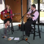 The Carrie Johnson Duo provided entertainment at the Commerce Lexington 2012 Salute to Small Business luncheon.