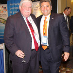 Alan Stein, left, and Steve St. Angelo of Toyota Motor Manufacturing Kentucky