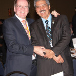 Dr. Pearse Lyons and Dr. Juan Gomez of Alltech