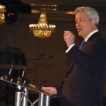 JPMorgan Chase President and CEO Jamie Dimon spoke Tuesday night at the annual meeting of Greater Louisville Inc., the metro chamber of commerce.
