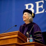Dr. Elaine Tuttle Hansen, executive director of the Johns Hopkins Center for Talented Youth, was the inauguration speaker.