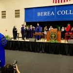 Lyle Roelofs is installed as Berea College's ninth president Saturday, April 6, 2013.