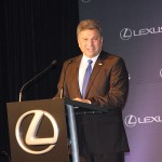 Steve St. Angelo, CEO of Toyota's Latin American and Caribbean Region and chairman of Toyota de Brazil, talks about his dream to have the Lexus manufactured at the Georgetown Toyota plant.