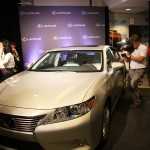 The Lexus ES was on display at TMMK during the announcement that the vehicle will be produced in Georgetown, Ky.