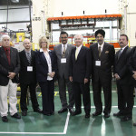 Gov. Steve Beshear, local leaders and Thunder Manufacturing officials were on hand Wednesday for the ribbon-cutting ceremony at the company's new Richmond facility. It is the Canadian company's first American facility.