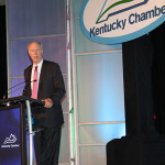 David Gergen speaks Monday night at the 8th annual Kentucky Chamber of Commerce Annual Meeting.