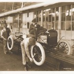 When Ford opened its first plant in Louisville, the assembly line process utilized was state-of-the art in advanced manufacturing. Model Ts were the first vehicles produced in Louisville. (Ford Archive)