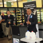 Tino Soto of Walmart hails the Udderly Kentucky launch.