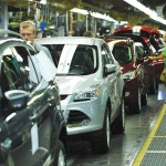 Workers at Ford's Louisville Assembly Plant assemble the all-new Escape.