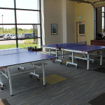 A game room and break area for Amazon employees