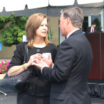 Sharon Clark, commissioner of the Kentucky Department of Insurance, attended Anthem's 75th anniversary ceremony.