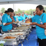 Anthem employees enjoyed a picnic in celebration of the company's 75th anniversary.
