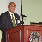 Dr. Teferi Tsegaye, dean of KSU's College of Agriculture, Food Science and Sustainable Systems and associate vice president for land grants.