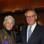 Former State Auditor Crit Luallen and her husband, Lynn, were among the first guests to view a special documentary commemorating the 30th anniversary of Kentucky Center for the Arts.
