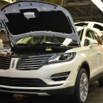 Ford Motor Co. on Monday announced the hiring of 300 new employees and a $129 million investment in Louisville Assembly Plant to support production of the all-new 2015 Lincoln MKC. (Photo by Sam VarnHagen/Ford Motor Co.)
