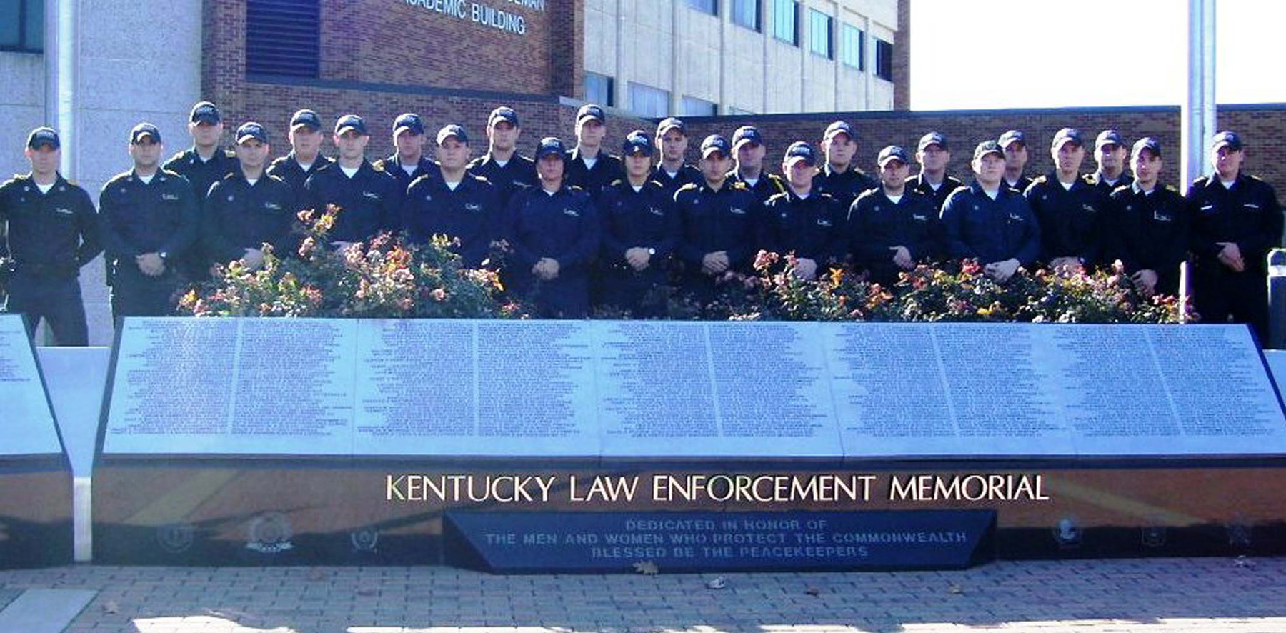 Department of Criminal Justice graduates 25 officers from