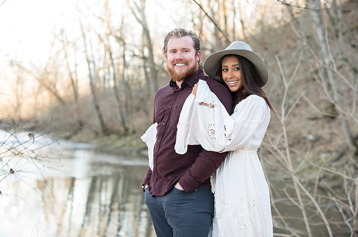 Brittany and Robbie Ross Jr. have been together since high school and married since 2010.