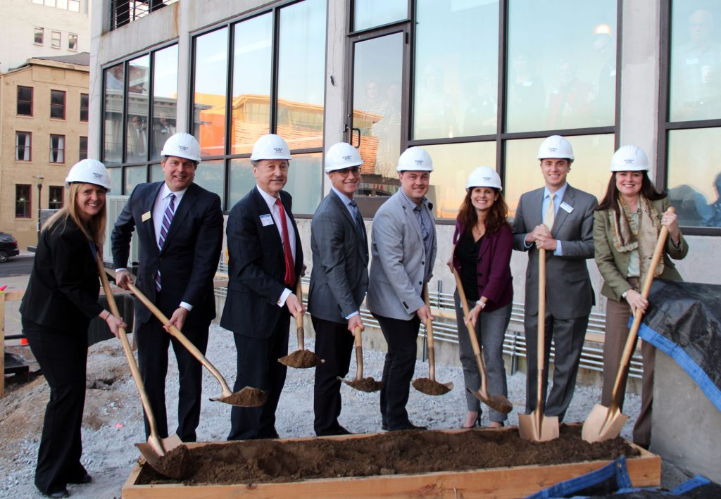 Leadership Louisville Center breaks ground on phase two of