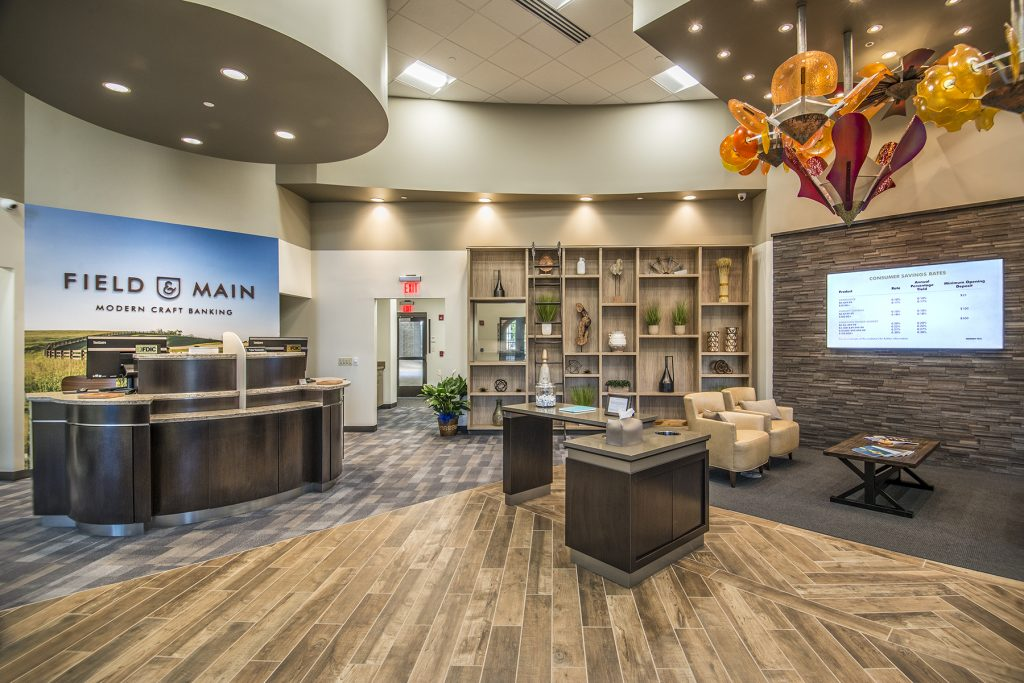 Field & Main opens its first full-service banking center in