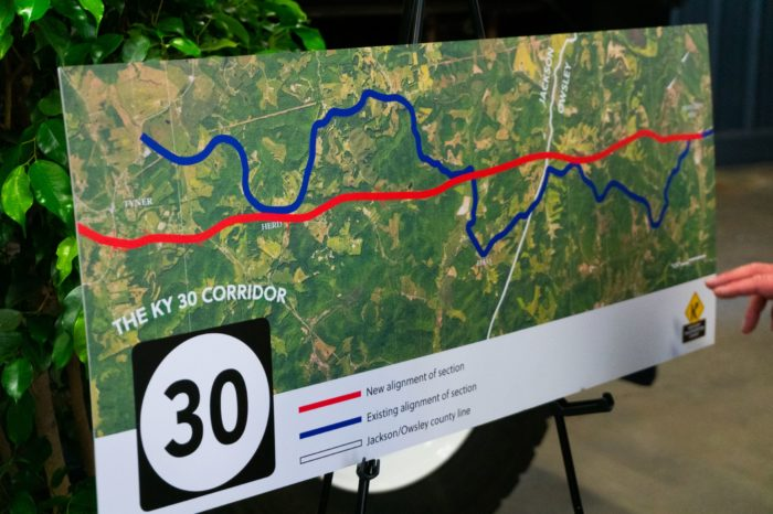 Final stretch of KY 30 from Booneville to London will be completed on ky congressional map, kentucky senate map, kentucky state house district map,