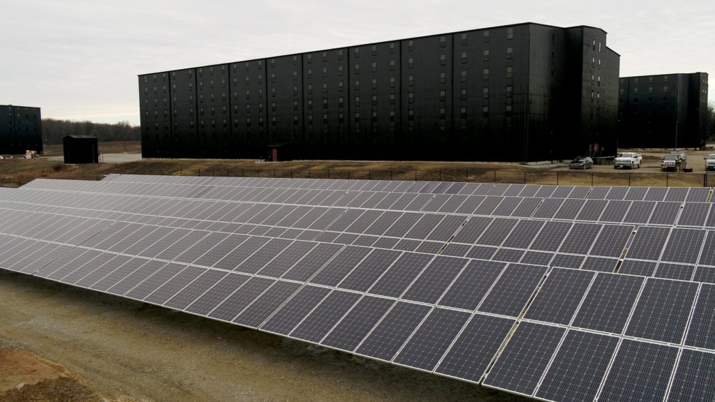 New solar array making homegrown electricity for Maker's Mark