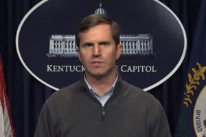 Kentucky Gov. Andy Beshear, COVID-19, school
