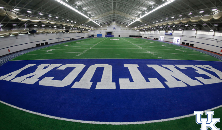 University of Kentucky football's practice facility Nutter Field House.