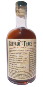 Buffalo Trace Distillery Experimental Wheat Bourbon