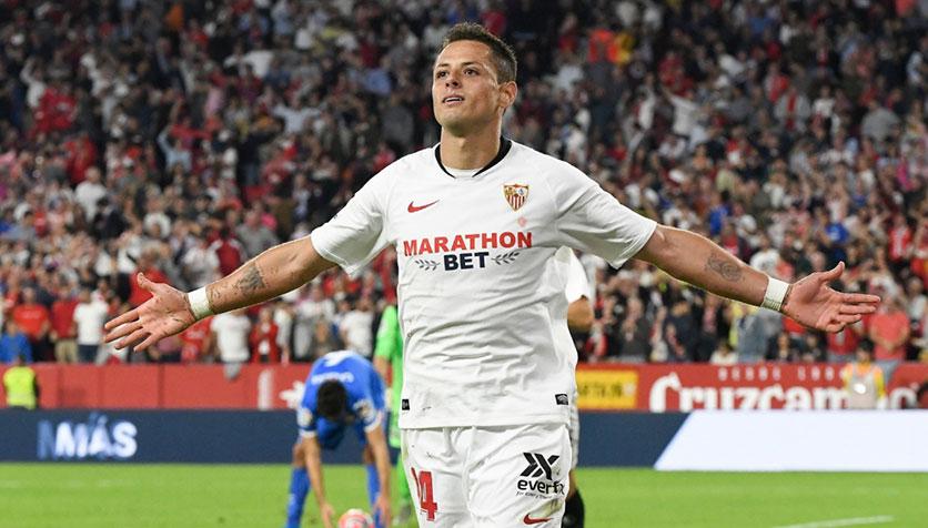 Liga, il Siviglia batte 2-0 l'Osasuna: solo 10 minuti per Gomez