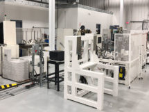 Mazak's newly expanded Spindle Rebuild Department.