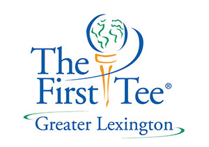 the first tee of greater lexington logo