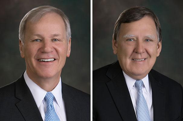 CEO Greg Strahan and CFO John Hackbarth