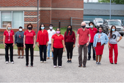 UofL's contact tracing team